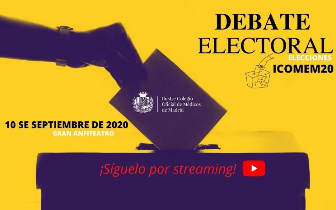 Debate Electoral ICOMEM